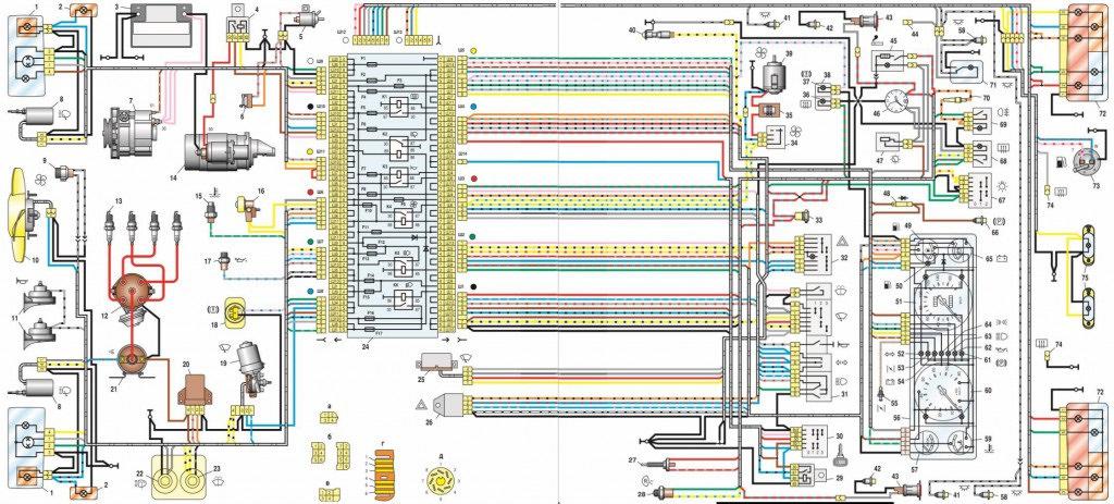 Монтажный блок предохранителей ваз 2107 инжектор и карбюратор расположение какой за что отвечает как снять панель фото схема